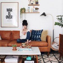 Stunning scandinavian living room design ideas 20