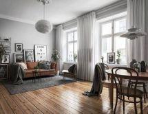 Stunning scandinavian living room design ideas 23
