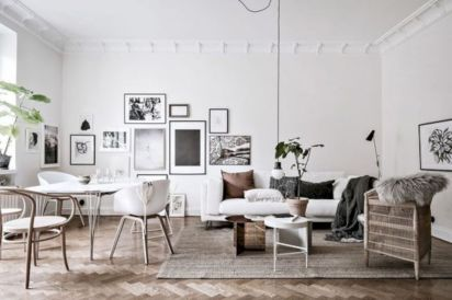 Stunning scandinavian living room design ideas 28