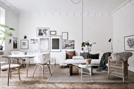 Stunning scandinavian living room design ideas 28