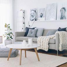 Stunning scandinavian living room design ideas 35