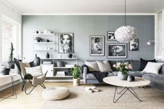 Stunning scandinavian living room design ideas 38
