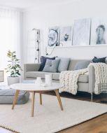 Stunning scandinavian living room design ideas 41