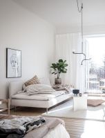 Stunning scandinavian living room design ideas 46