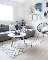 Stunning scandinavian living room design ideas 47