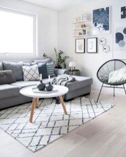 Stunning scandinavian living room design ideas 47