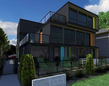 Trendy office architecture building ideas 07