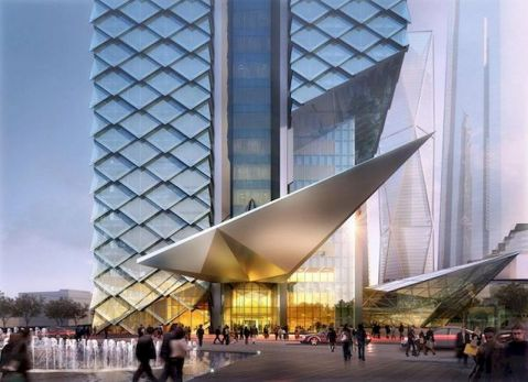Trendy office architecture building ideas 22