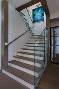 Unique coastal stairs design ideas for home this summer 02