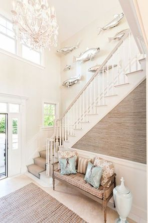 Unique coastal stairs design ideas for home this summer 13