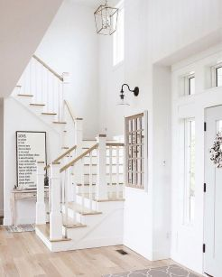 Unique coastal stairs design ideas for home this summer 14