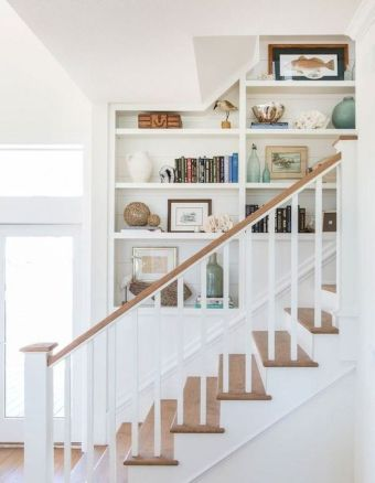 Unique coastal stairs design ideas for home this summer 25