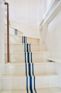 Unique coastal stairs design ideas for home this summer 29