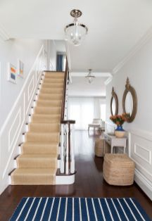 Unique coastal stairs design ideas for home this summer 32