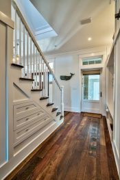 Unique coastal stairs design ideas for home this summer 43