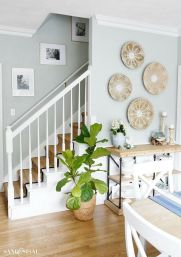 Unique coastal stairs design ideas for home this summer 50