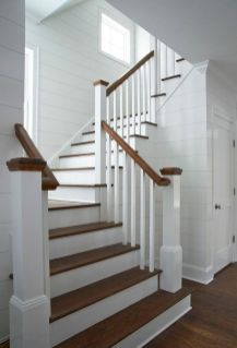 Unique coastal stairs design ideas for home this summer 54