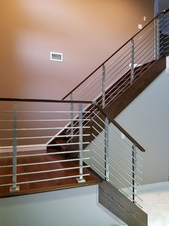 Unique coastal stairs design ideas for home this summer 55