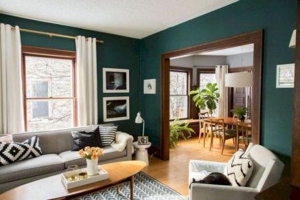 Unique mid century living room décor ideas 18