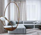 Unique mid century living room décor ideas 26