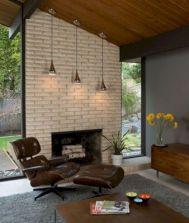 Unique mid century living room décor ideas 35