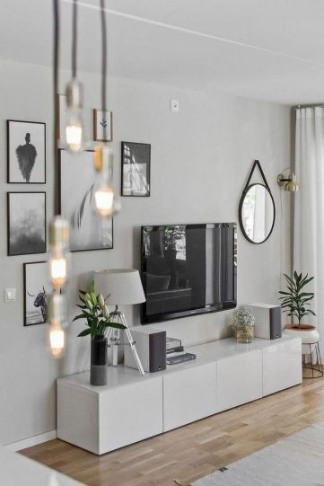 Adorable tv wall decor ideas 01