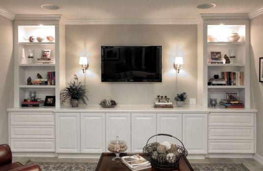 Adorable tv wall decor ideas 03