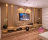 Adorable tv wall decor ideas 04