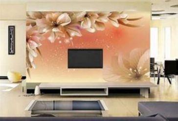 Adorable tv wall decor ideas 05