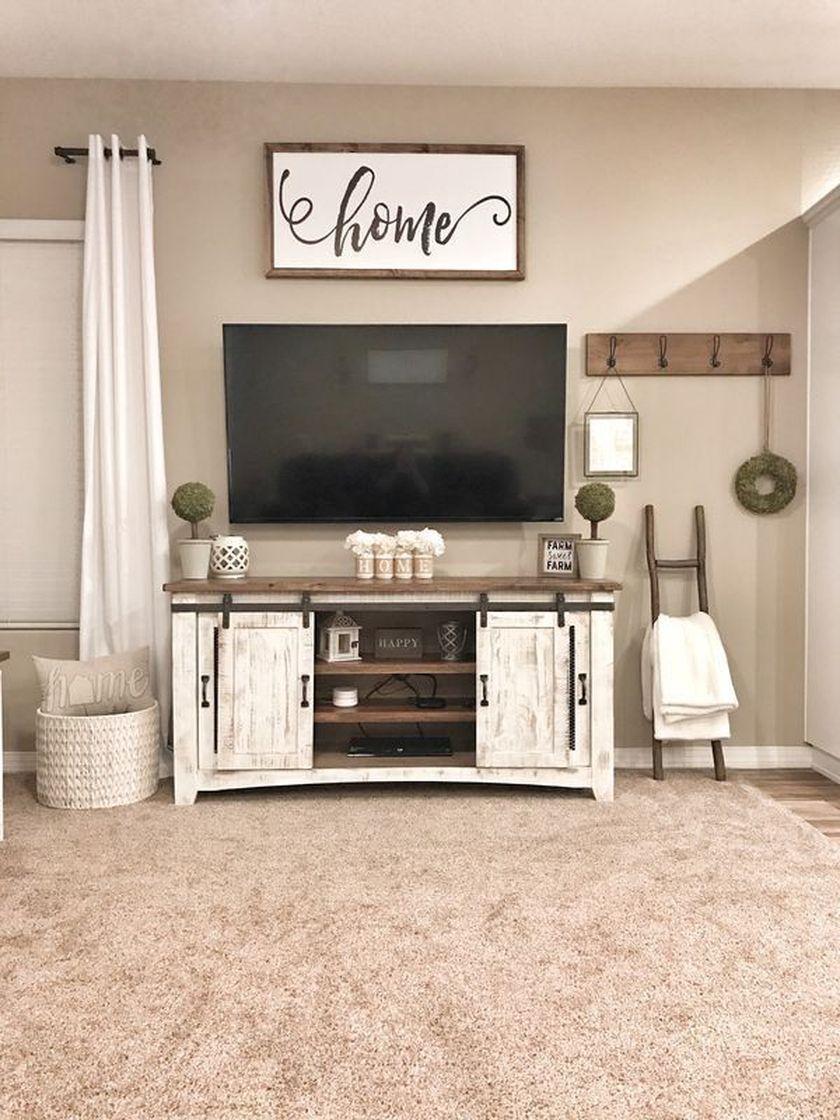 Adorable tv wall decor ideas 09