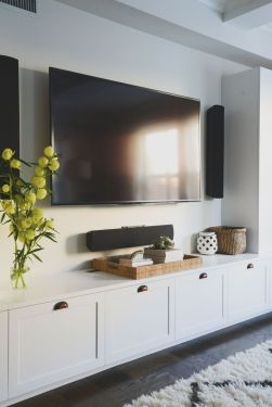 Adorable tv wall decor ideas 12