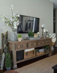 Adorable tv wall decor ideas 17