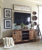 Adorable tv wall decor ideas 18