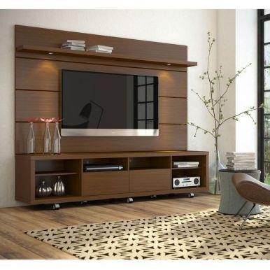 Adorable tv wall decor ideas 19