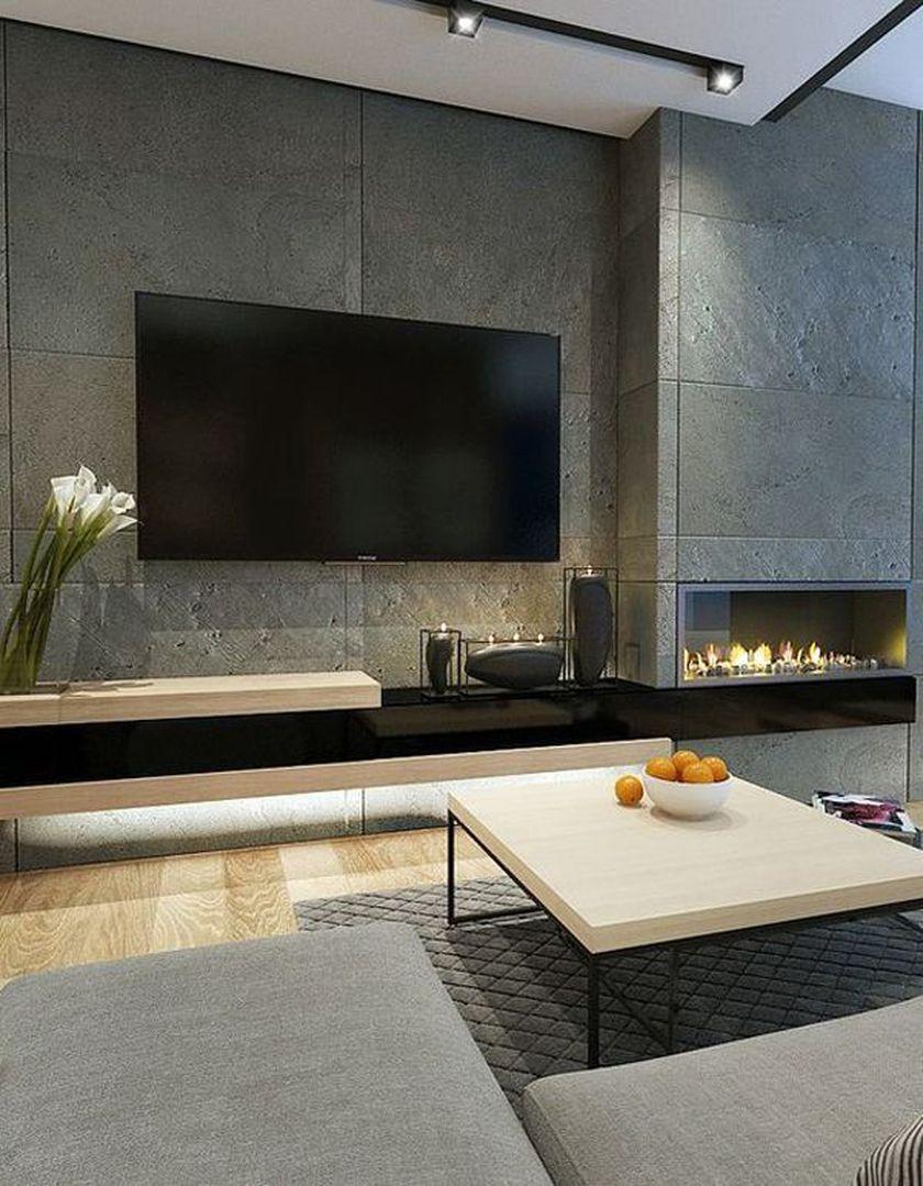 Adorable tv wall decor ideas 20
