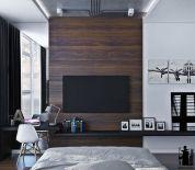 Adorable tv wall decor ideas 21