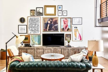 Adorable tv wall decor ideas 21