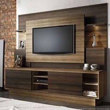 Adorable tv wall decor ideas 22