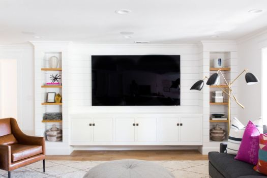 Adorable tv wall decor ideas 25