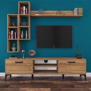 Adorable tv wall decor ideas 26