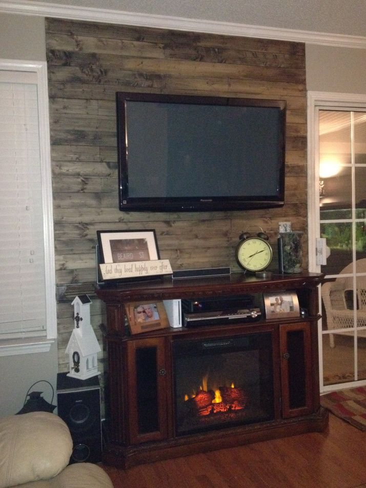 Adorable tv wall decor ideas 33