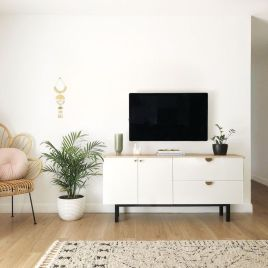 Adorable tv wall decor ideas 34
