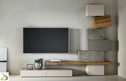 Adorable tv wall decor ideas 35