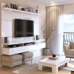 Adorable tv wall decor ideas 40