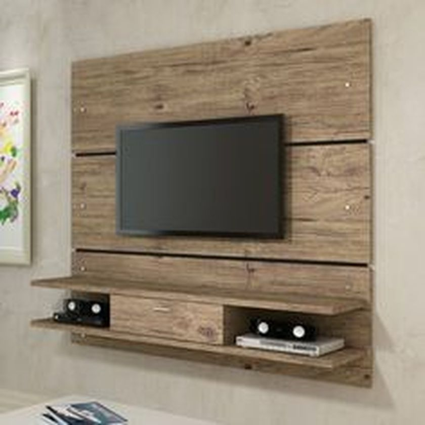 Adorable tv wall decor ideas 52