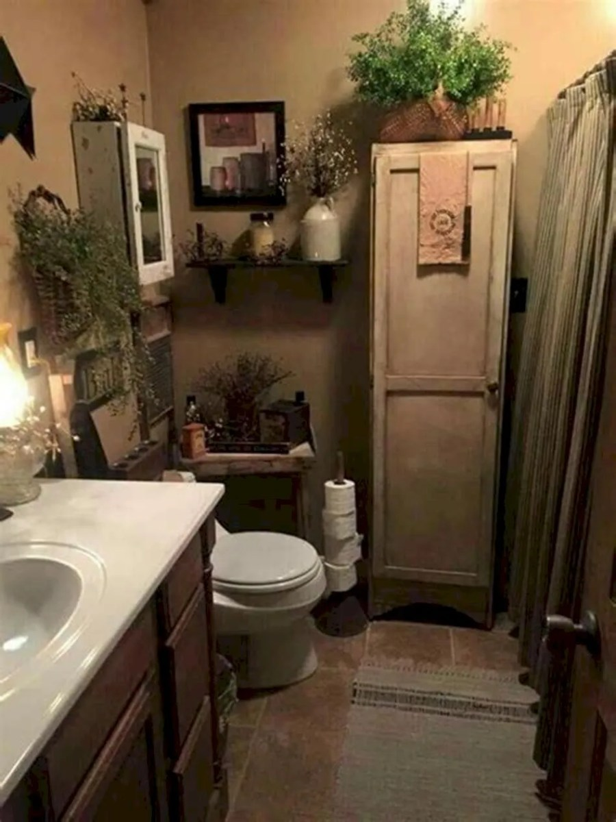 Amazing country bathrooms ideas you can imitate 27