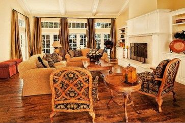 Attractive traditional living room designs ideas in italian 04