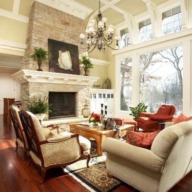Attractive traditional living room designs ideas in italian 05