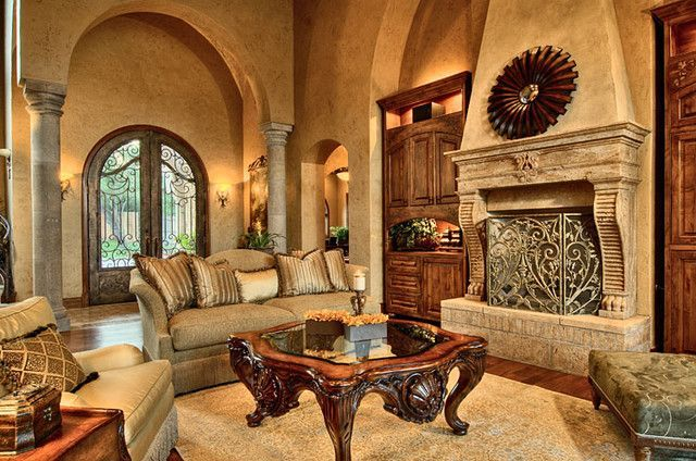 Attractive traditional living room designs ideas in italian 11