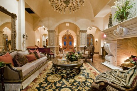 Attractive traditional living room designs ideas in italian 20